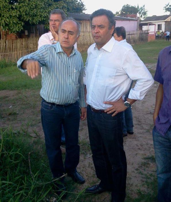 Aécio Neves: líder da oposição - Senador defendeu a reforma do Pacto Federativo